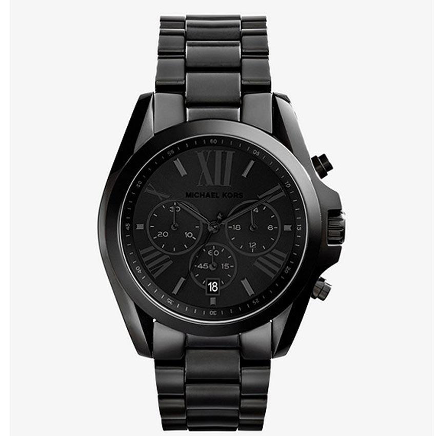 Michael Kors MK5550 Unisex Bradshaw Chronograph Black Dial,Bracelet Watch