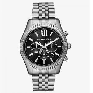 Michael Kors MK8602 Men's Lexington Chronograph Black Dial Watch