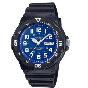 Casio MRW200H-2B2V Men's Classic Analog Blue Dial Medium Size Watch