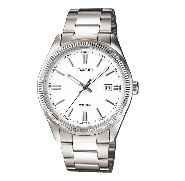 Casio MTP-1302D-7A1VDF Unisex Enticer Silver Dial Small Watch