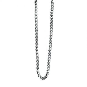 Fred Bennett N3224 Men's Maverick Stainless-Steel Curb 56cm Necklace