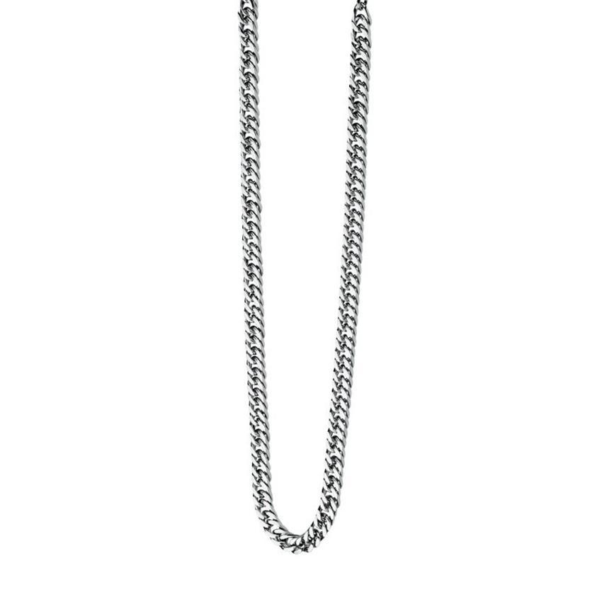 Fred Bennett N3224 Men's Maverick Stainless-Steel Curb 56cm Necklace
