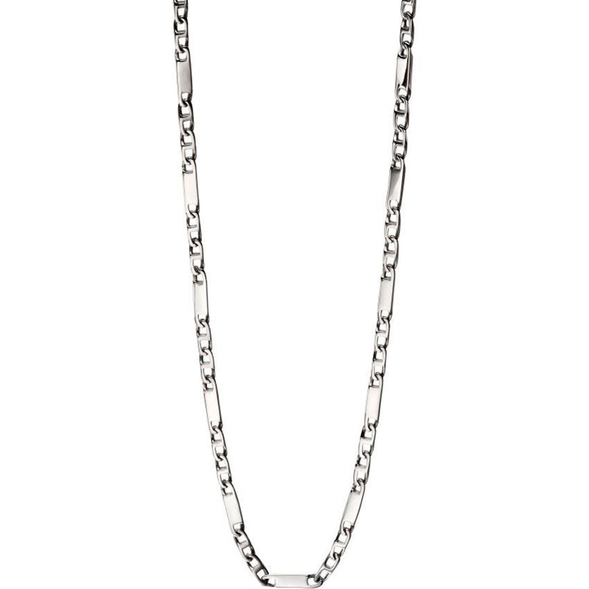 Fred Bennett N4281 Men's Stainless Steel Bar Chain Necklace