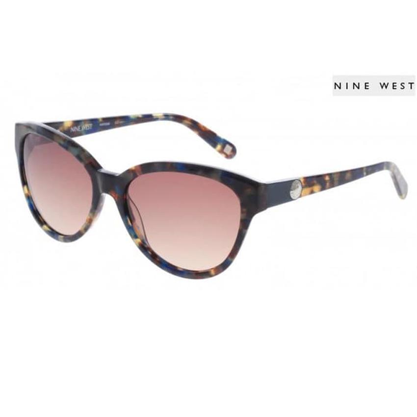 Nine West 556S Women's Teal Tortoise Sunglasses