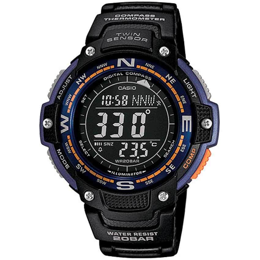Casio SGW100-2B Twin Sensor Digital Compass Watch