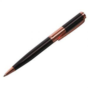 Stratton ST1030 Ball Point Pen - Black & Rose Gold