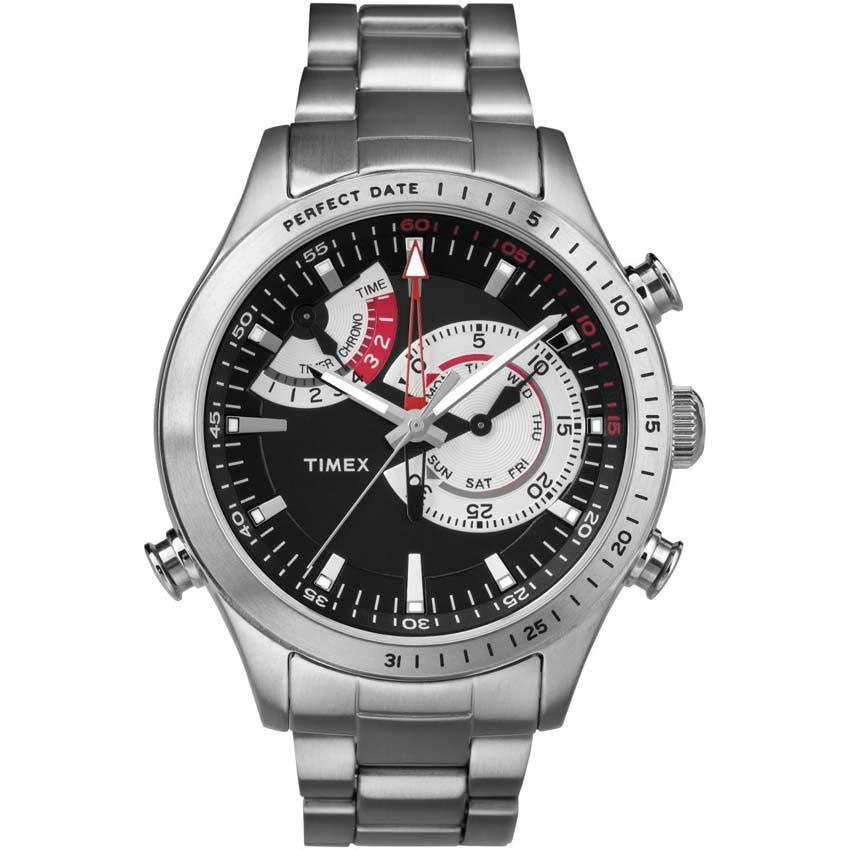 Timex T2P730 Men's Intelligent Quartz Chronograph Perfect Date Watch