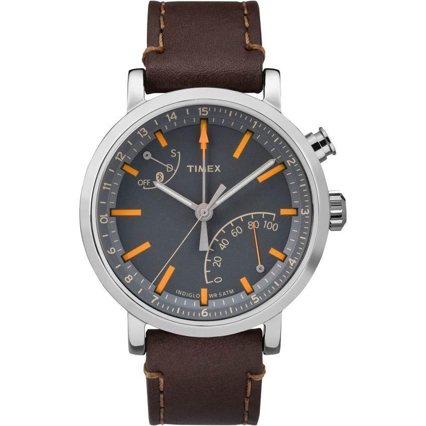 Timex T2P923 Men's Metropolitan+ Activity Tracker Bluetooth Hybrid Smart Watch