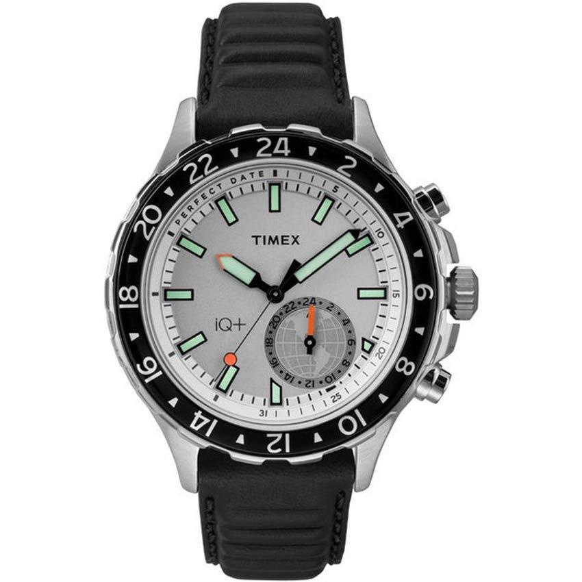 Timex T2R395 Intelligent Quartz + Move Multi-Time Activity Tracker Smart Watch