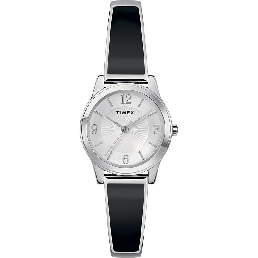 Timex T2R927 Women's Fashion Stretch Bangle 25mm Expansion Small Watch