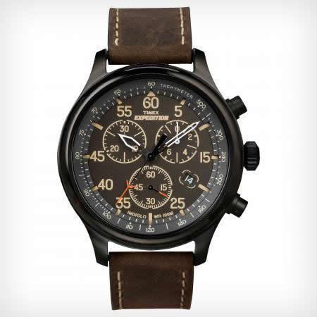 Timex T49905 Men's Expedition Rugged Field Chronograph Watch