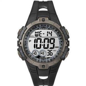 TIMEX T5K802 MEN'S MARATHON INDIGLO CHRONOGRAPH DIGITAL RESIN WATCH