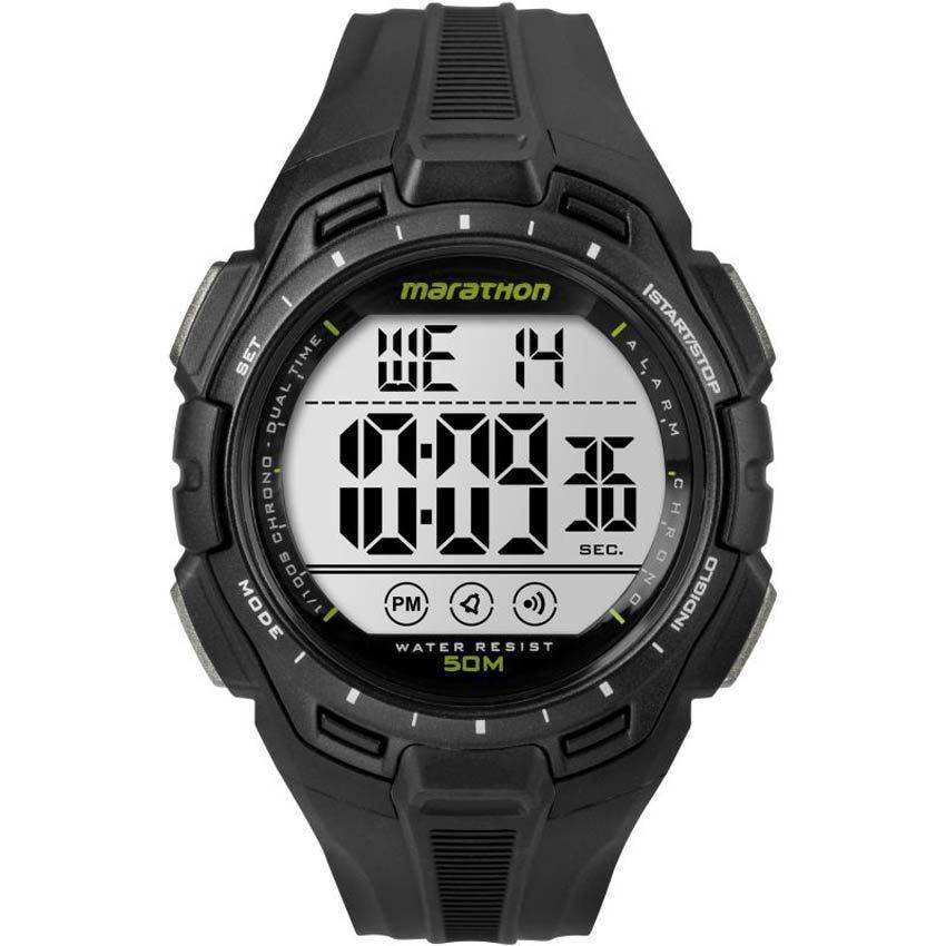 TIMEX TW5K94800 MEN'S MARATHON DIGITAL BLACK CHRONOGRAPH RESIN WATCH