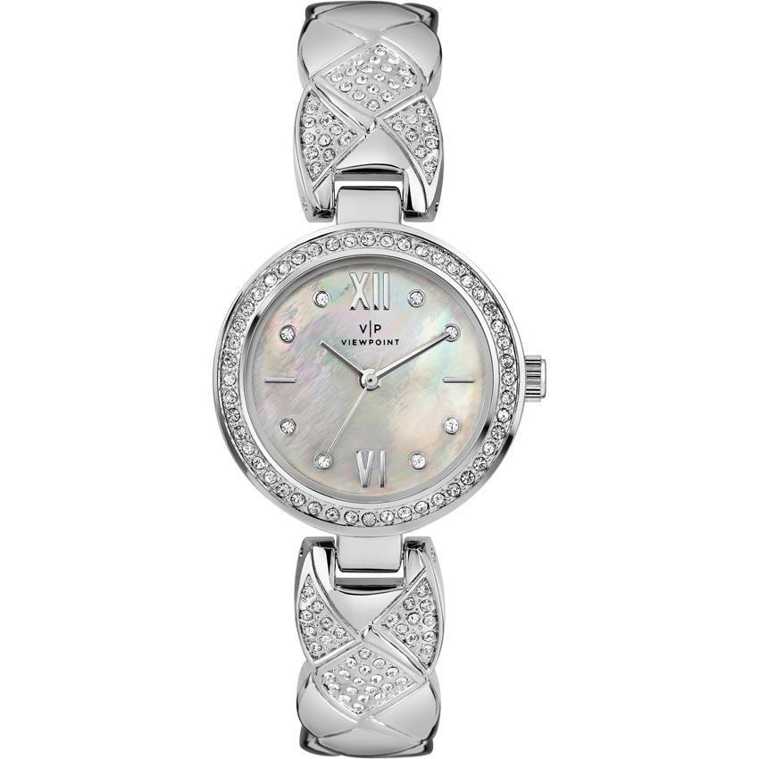 Timex Viewpoint CC3D805 Women's Mother-of-Pearl Dial Bracelet Medium Watch