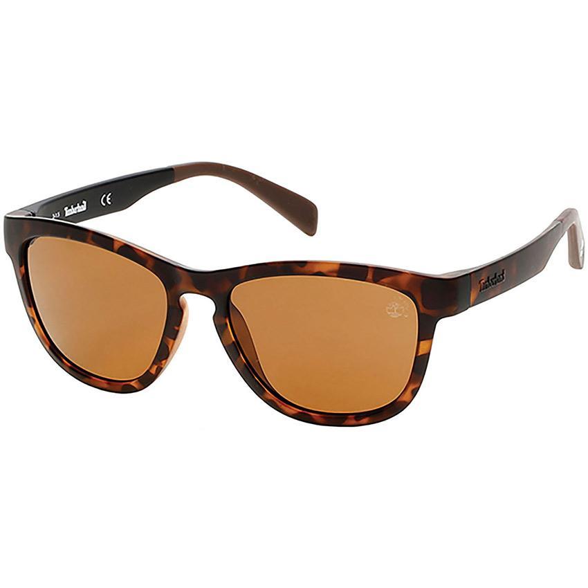 Timberland 9102 Unisex Havana Sunglasses