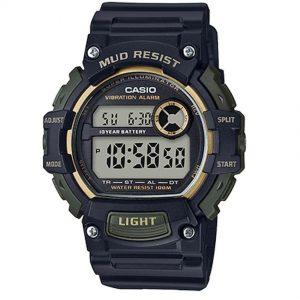 Casio TRT110H-1A2V Men's Mud Resistant Quartz Resin Digital Watch
