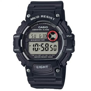 Casio TRT110H-1AV Men's Mud Resistant Illuminator Resin Watch
