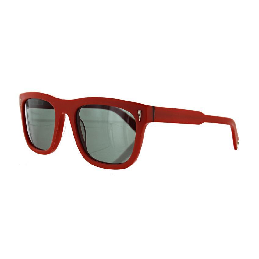 Vilebrequin Octan 1722117 Unisex Red Acetate Frame Sunglasses