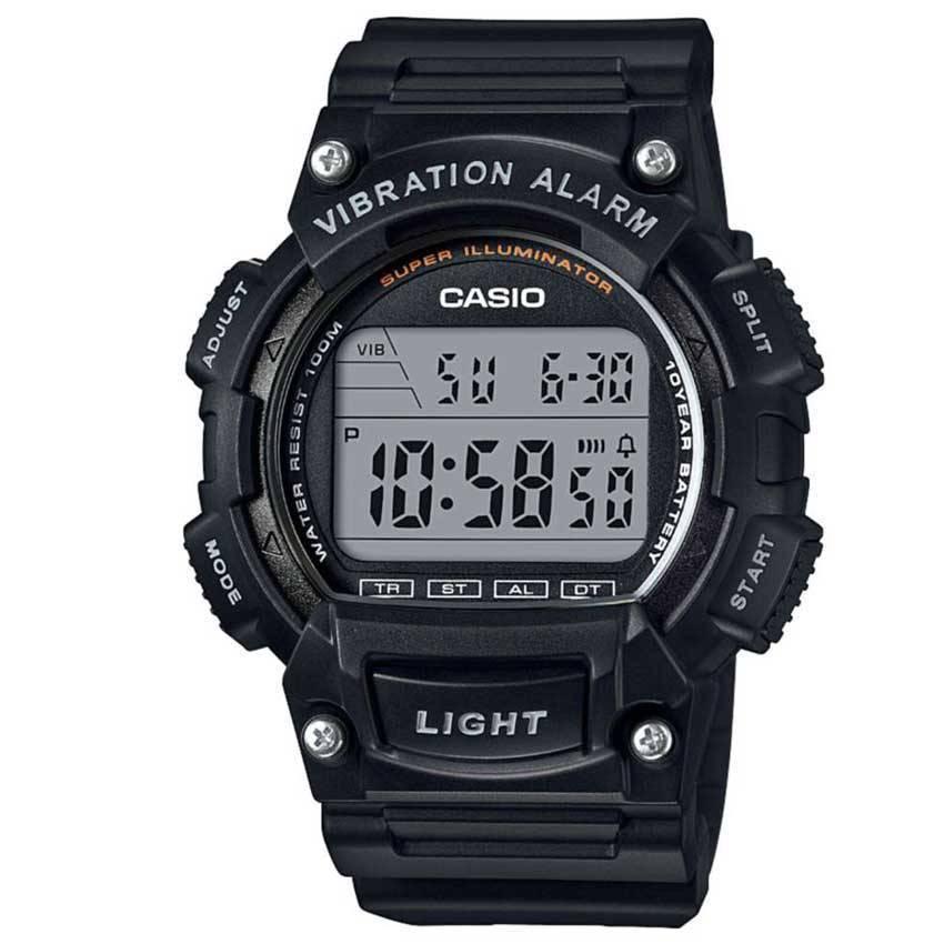 Casio W736H-1AV Men's Vibration Alarm Digital Sports Watch