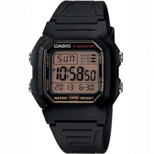 Casio W800HG-9AV Men's Classic Digital-Gray Dial Sport Small Size Watch