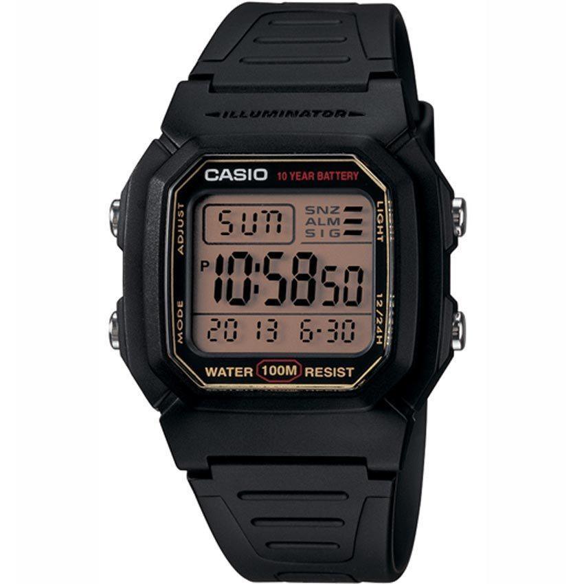 Casio W800HG-9AV Men's Classic Digital-Gray Dial Sport Small Size Watch
